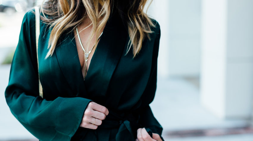 Emerald Green for the Holidays